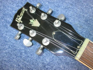 Gibson ES-335、リペア、ナインス、杉並、修理、東京、ナット調整