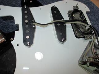 Sadowsky Stratocaster、ナインス、杉並、東京、リペア、修理、ピックアップ