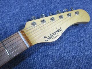 Sadowsky Stratocaster、ナインス、杉並、東京、リペア、修理、ナット調整