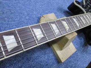 Gibson Les Paul Double Cutaway、杉並、東京、ナインス、修理、リペア、メンテナンス、ネック反り、弦高