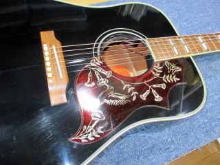 Gibson Hummingbird 50th Anniversary、ナインス、杉並、東京、リペア、修理、弦高