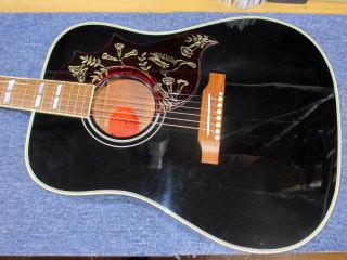 Gibson Hummingbird 50th Anniversary、ナインス、杉並、東京、リペア、修理、メンテナンス