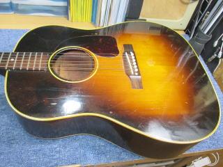 Gibson J-45、ナインス、杉並、東京、高円寺、リペア、修理