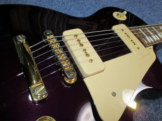 Gibson Les Paul、修理、リペア、ナインス、杉並、東京、高円寺、P-100、ピックアップ、P-100