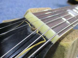 Gibson ES-335TD、ナインス、修理、リペア、杉並、東京、ナット交換