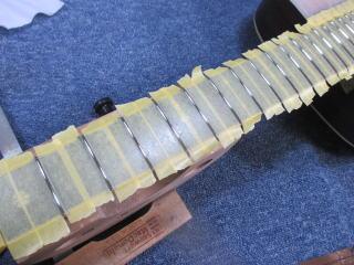 Martin OM-42、杉並、東京、ナインス、リペア、修理、摺り合わせ