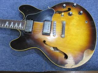 Gibson ES-335TD、ナインス、修理、リペア、杉並、東京、メンテナンス