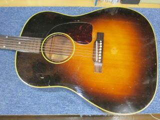 Gibson J-45、ナインス、杉並、東京、高円寺、リペア、修理、50年代、メンテナンス