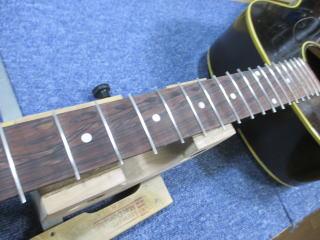 Gibson J-45、ナインス、杉並、東京、高円寺、リペア、修理、フレット交換