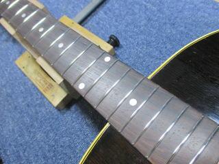 Gibson J-45、ナインス、杉並、東京、高円寺、リペア、修理、すり合わせ