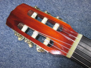 マルハ・クラシックギター、修理、リペア、杉並、高円寺、東京、ナット交換