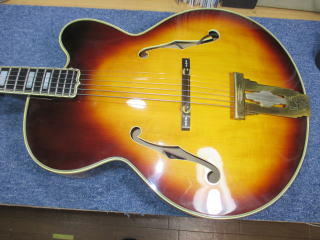 Gibson L-5C、リペア、杉並、東京、修理