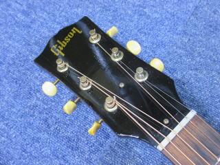 Gibson J-45 1959年製、ナインス、杉並、高円寺、東京、リペア、修理、ナット調整