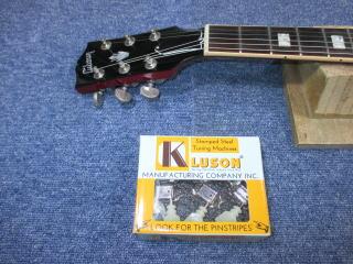 Gibson ES-335、ナインス、杉並、東京、高円寺、リペア、修理、グローバーペグ