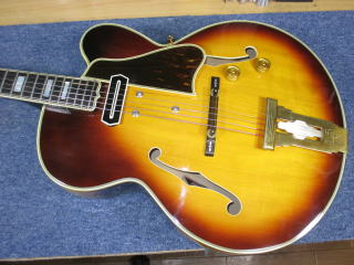 Gibson L-5C、リペア、杉並、東京、修理、チャーリークリスチャン、ピックアップ、ナインス