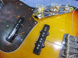 Fender Jazz Bass、アッセンブリー修理、アース処理、リペア、ナインス