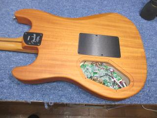 Fender Acoustasonic Stratocaster、ナインス、リペア、修理、東京、高円寺、杉並、調整