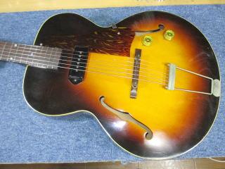 Gibson ES-125、ナインス、杉並、東京、高円寺、リペア、修理、メンテナンス
