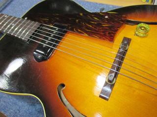 Gibson ES-125、ナインス、杉並、東京、高円寺、リペア、修理、P90