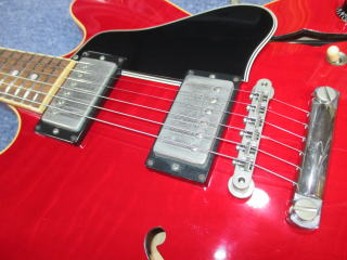 ギブソン ES-335、リペア、修理、ナインス、杉並、東京、高円寺、クリーニング