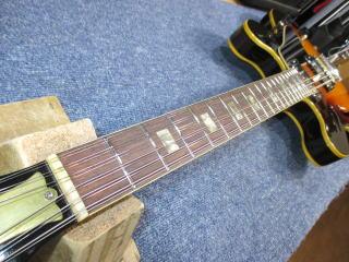 Gibson ES-335 TD-12、修理、リペア、ナインス、杉並、高円寺、東京、フレットすり合わせ