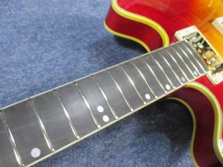 Gibson ES Artist、リペア、ナインス、東京、修理、杉並、フレット、クリーニング