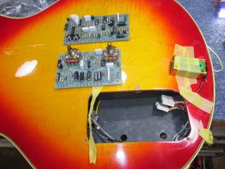Gibson ES Artist、リペア、ナインス、東京、修理、杉並、アッセンブリー