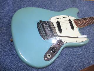 Fender Mustang、ナインス、東京、杉並、高円寺、リペア、修理