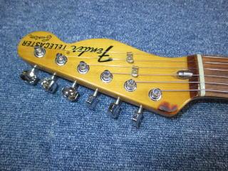 Fender Telecaster Custom、ナット交換、ナインス、リペア、修理、東京、高円寺