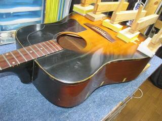 Gibson J-45 Deluxe、リペア、修理、ナインス、東京、ビンテージ