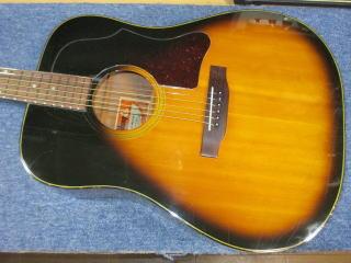 Gibson J-45 Deluxe、リペア、修理、ナインス、東京、杉並、高円寺