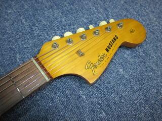 Fender Mustang、ナインス、東京、杉並、高円寺、リペア、修理、ムスタング