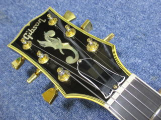 Gibson ES-775、ナインス、リペア、修理、東京、杉並、高円寺、ナット調整