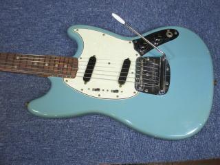 Fender Mustang、ナインス、東京、杉並、高円寺、リペア、修理、フェンダー・ムスタング