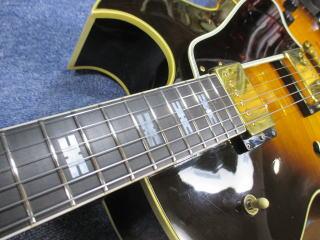 Gibson ES-775、ナインス、リペア、修理、東京、杉並、高円寺、フレット