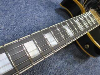 Gibson Les Paul Custom、フレット交換、ナインス、修理、リペア、高円寺、杉並、東京、メンテナンス